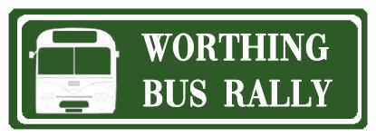 Worthing Bus Rally Logo